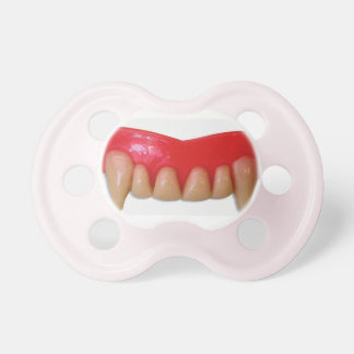 pacifier, tooth, vampire pacifier