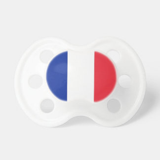 Pacifier with flag of France