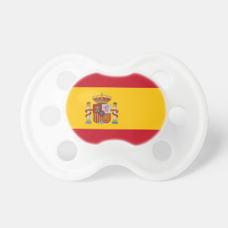 Pacifier with flag of Spain
