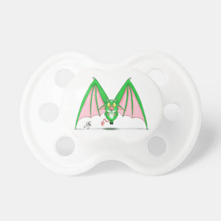 "Pacifier with ""M"" Monster Character"