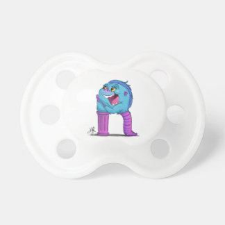 "Pacifier with ""R"" Monster Character"