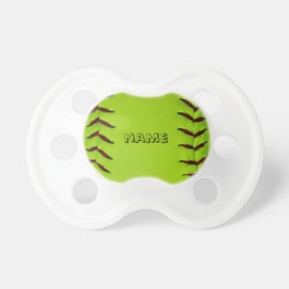 Pacifier with softball