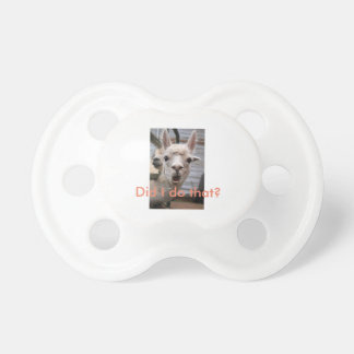 Pacifiers with Attitudes