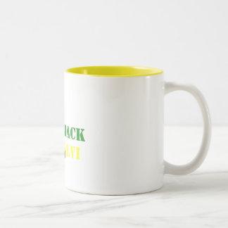 PACK2BACK  XLV - XLVI Two-Tone COFFEE MUG