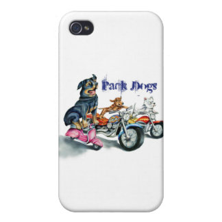 Pack Dogs Cases For iPhone 4