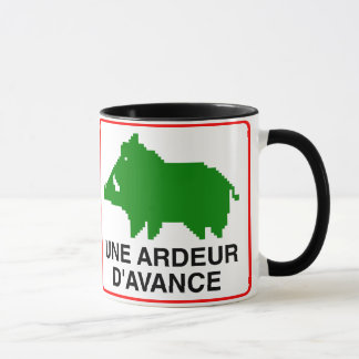 Pack - double a HEAT IN ADVANCE Mug