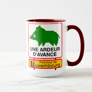 Pack - double Province of Luxembourg Mug