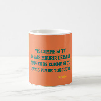 pack Gandhi quotation Coffee Mug