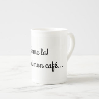 Pack mug firm! I take my coffee…