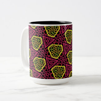 Pack MUG Jimette Design red and yellow