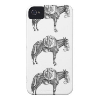 pack mule prayer iPhone 4 case