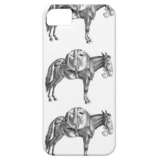pack mule prayer iPhone 5 cases