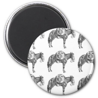 pack mule prayer magnet