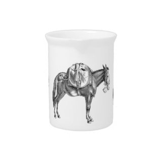 pack mule prayer pitcher