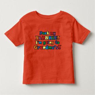 Pack My Blankie! I'm Going To Grandma's Shirts