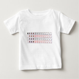Pack of Cards On White Baby T-Shirt