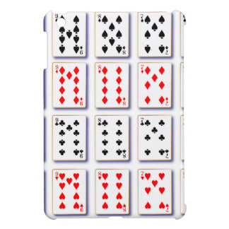 Pack of Cards On White iPad Mini Case