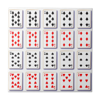 Pack of Cards On White Tile