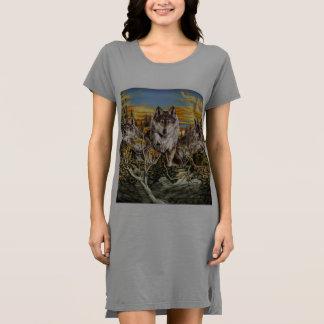 Pack of wolvesrunning dress