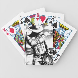 Pack Playing Cards with Handsome Cowboy