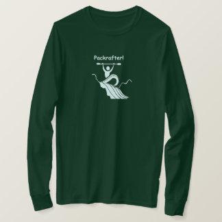 Pack raft. Packrafter. T-Shirt