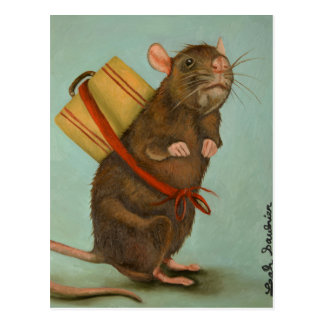 Pack Rat Postcard