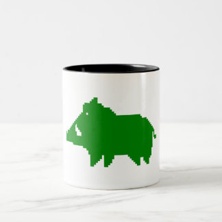 PACK - WILD BOAR A HEAT IN ADVANCE Two-Tone COFFEE MUG