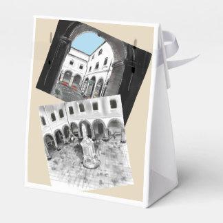 PACKAGE - COLLEGE SAN ANTONIO FAVOR BOX