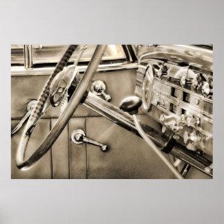 Packard Dashboard Poster