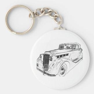 Packard Keychain