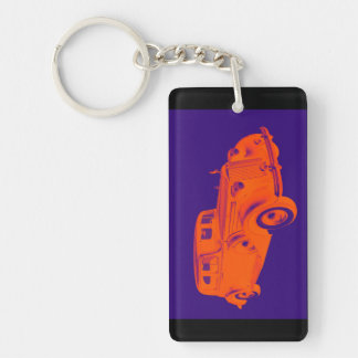 Packard Luxury Car Pop Art Keychain