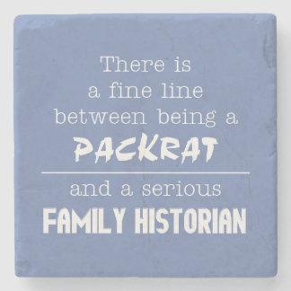 Packrat vs. Family Historian Coasters