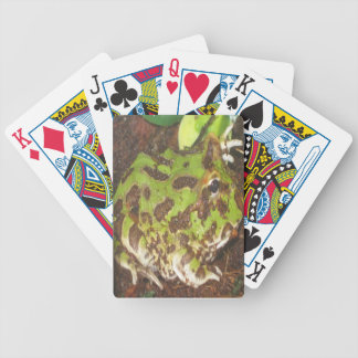 Pacman frog Playing Cards