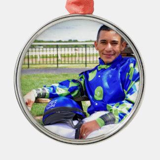 Paco Lopez Metal Ornament
