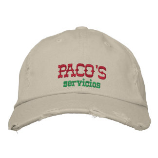 Paco's Servicios Embroidered Hat