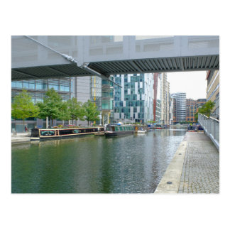 Paddington Basin, London UK Postcard