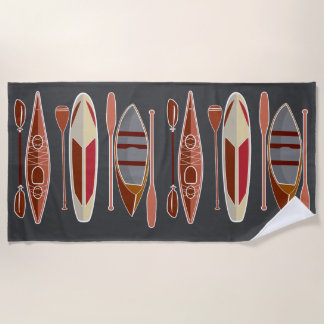 Paddle assion beach towel