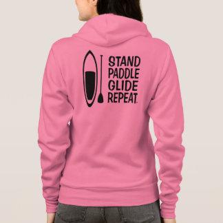 Paddle board ladies get your zippered hoodie!! hoodie