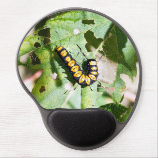 Paddle Caterpillar Gel Mousepad
