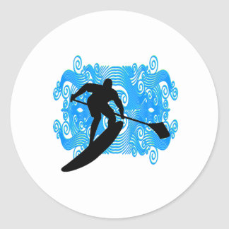 Paddle In Classic Round Sticker