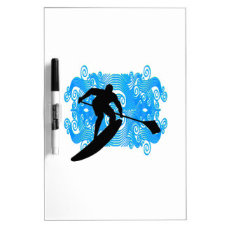 Paddle In Dry Erase Board