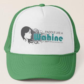 PADDLE LIKE A WAHINE Trucker Hat