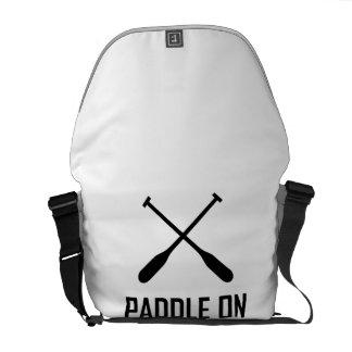 Paddle On Lake Life Courier Bag