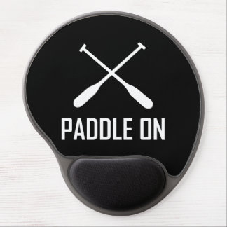 Paddle On Lake Life Gel Mouse Pad