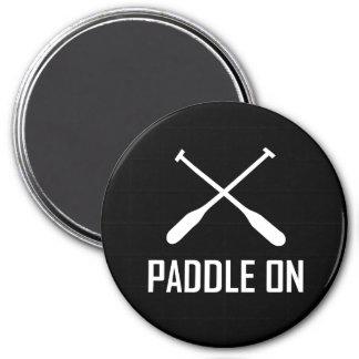 Paddle On Lake Life Magnet