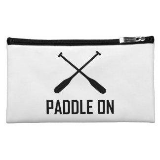 Paddle On Lake Life Makeup Bag