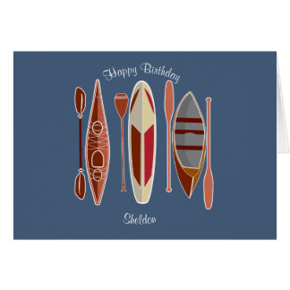 Paddle Passion Card