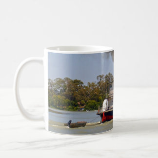 Paddle Steamer Cruising River Murray, Coffee Mug