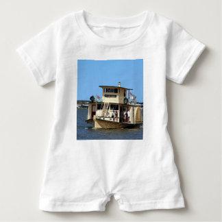 Paddle steamer, Goolwa, Australia Baby Romper