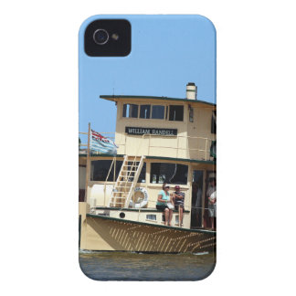 Paddle steamer, Goolwa, Australia iPhone 4 Case-Mate Case